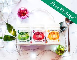 Probiotic Foods Christmas Bundles