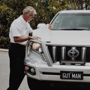 The Gut Man Don Chisholm Hume Highway Tour March 2018