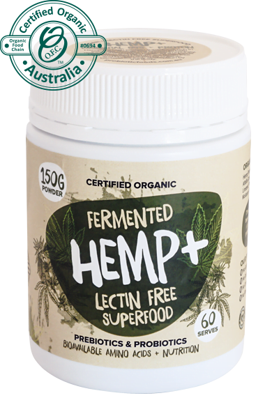 Probiotic Foods Fermented Hemp Protein