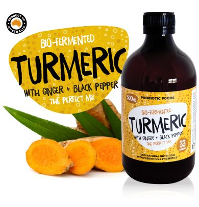 Bio-Fermented Turmeric with Ginger and Black Pepper