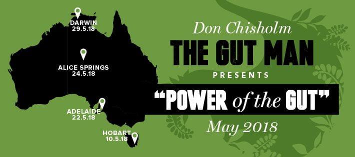 The Gut Man Tour May 2018