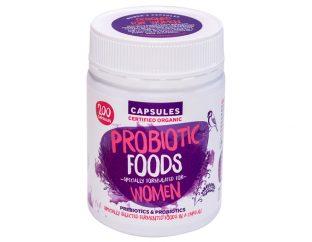 Probiotic Foods for Women Certified Organic Capsules