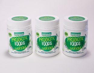 Probiotic Foods for Everyone Capsules Bundle 3 pack